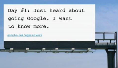 Google Apps Billboard