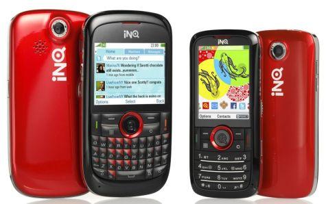 INQ Chat 3G en Mini 3G