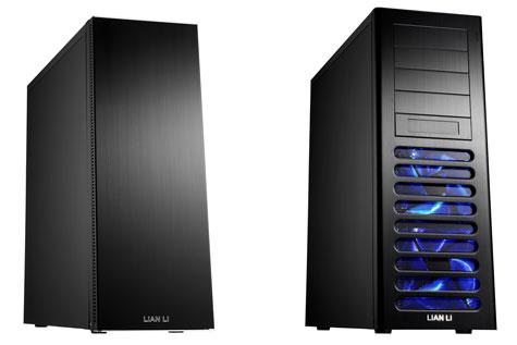 Lian-Li PC-A70F (links) en PC-A71F (rechts)