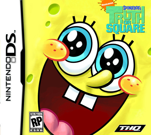 SpongeBob - Truth Or Square, Nintendo DS
