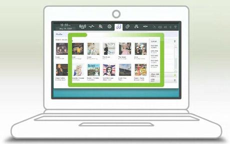 Moblin Eee PC netbook
