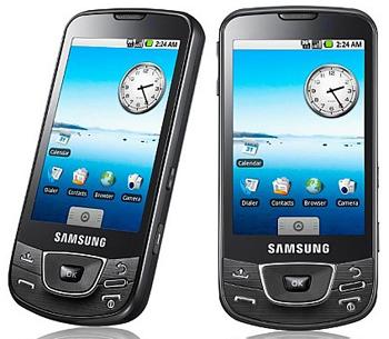 Samsung I7500 Zwart