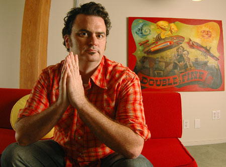 Tim Schafer van Double Fine Productions