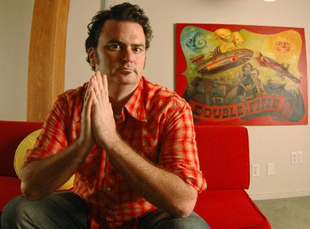 Tim Schafer van Double Fine Productions