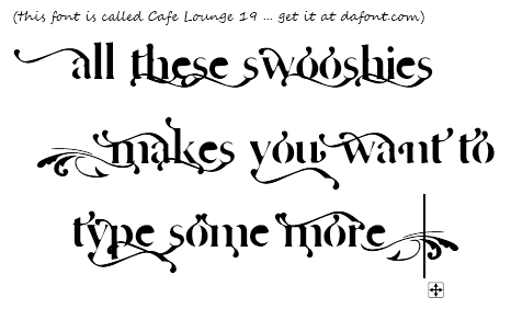 """Swooshy"" text in Paint.NET"