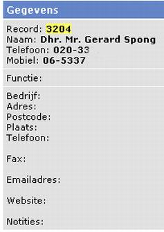 GPD-lek: Gerard Spong