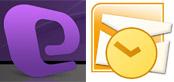 Mac Entourage Outlook logo's
