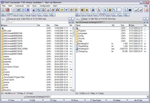 Total Commander 7.50 rc1 screenshot (481 pix)