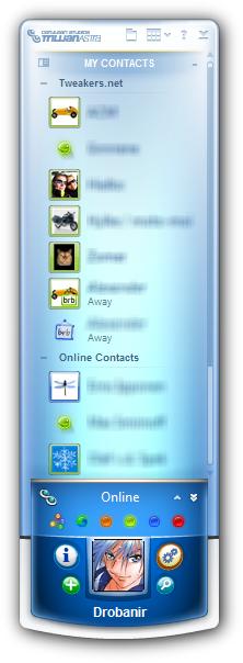 Trillian Astra 4.0 screenshot