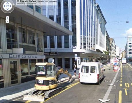 Google Street View Zwitserland