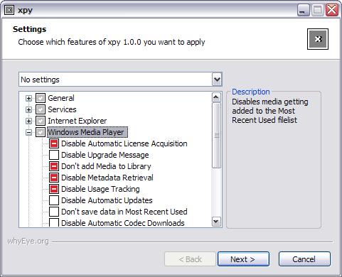 xpy 1.0.0 screenshot