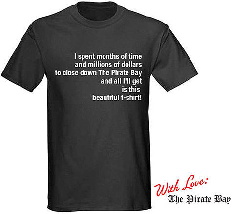 The Pirate Bay shirt
