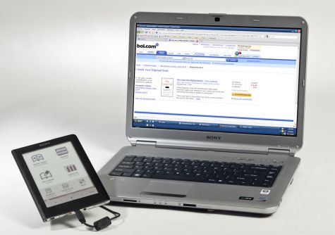 Sony e-reader met webwinkel van Bol.com
