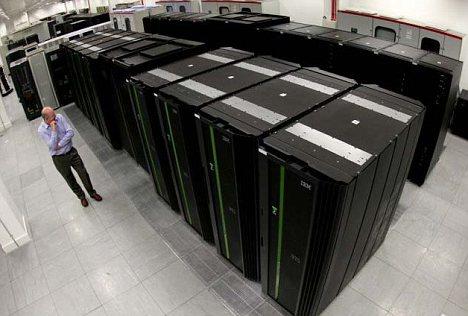 Supercomputer van Britse Meteorologische Dienst