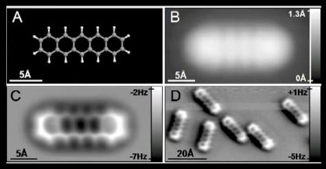 IBM pentaceen-molecuul