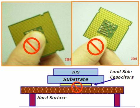 Intel LGA cover instructions
