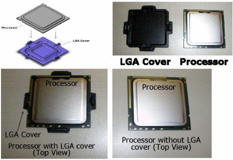 Intel LGA cover
