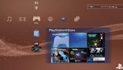 Sony PlayStation 3 firmware 3.0 screenshot (481 pix)