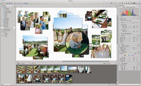 Apple Aperture screenshot (481 pix)