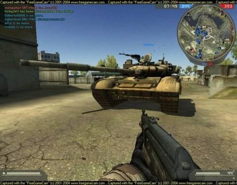 Battlefield 2 in-game screenshot (481 pix)