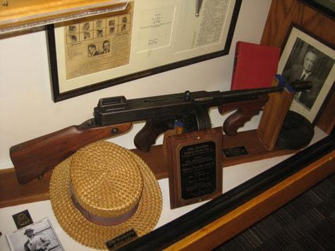 De echte Tommy Gun van John Dillinger