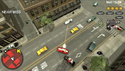 Grand Theft Auto: Chinatown Wars voor PSP