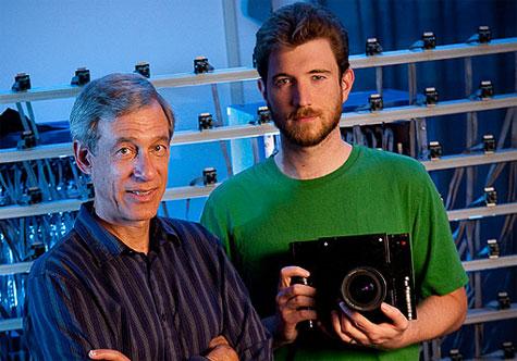 Levoy en Adams met de Frankencamera