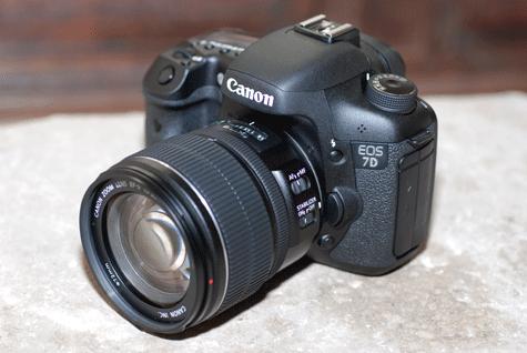 Canon EOS 7D handson