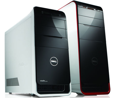 Dell XPS 8000 naast XPS 9000