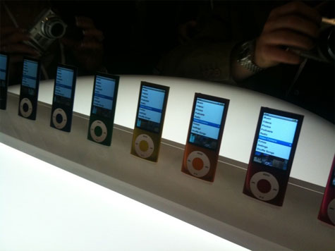 Nieuwe iPod nano 5G