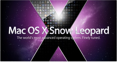 Apple Mac OS X 10.6 Snow Leopard plaatje (481 pix)