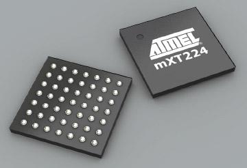 Atmel mXT224 touchscreencontroller