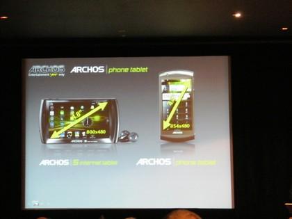 Archos Phone Tablet