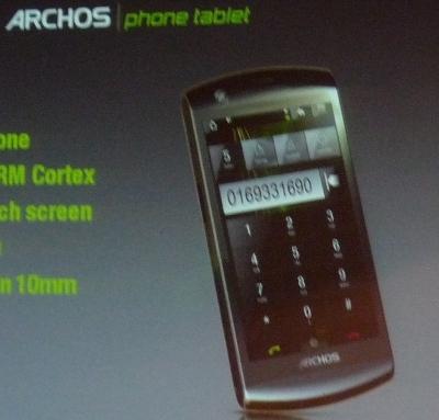 Archos Phone Tablet 2