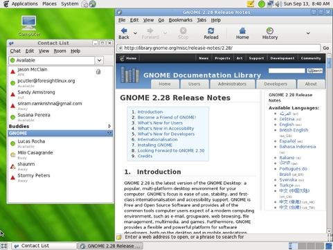 Gnome 2.28 desktop (481 pix)