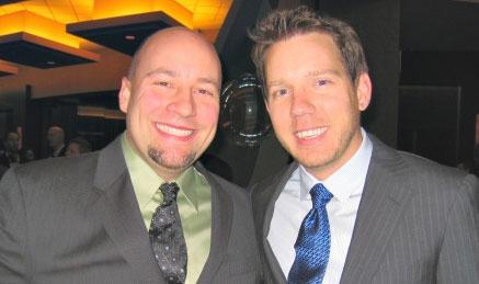 Mike Capps en Cliff Bleszinski van Epic Games