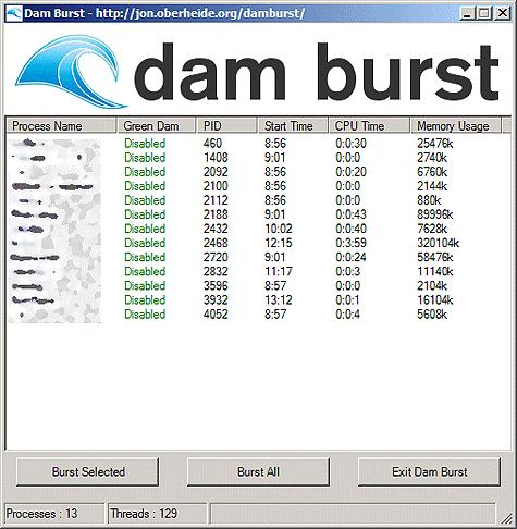 Damburst