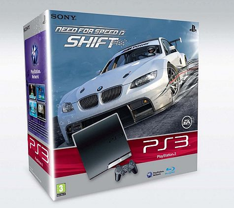 PS3 Slim 250GB-bundel met Need for Speed: Shift
