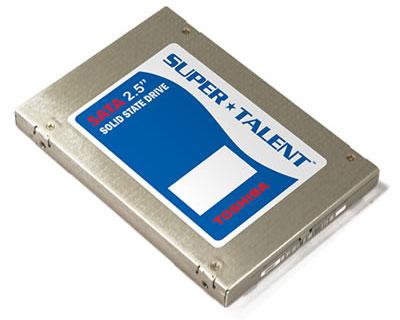 UltraDrive-ssd van Super Talent en Toshiba