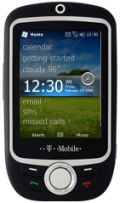 Mockup: T-Mobile Vairy Touch met Windows Mobile