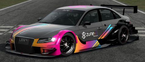 Gratis Zune Audi A4 in Forza 3