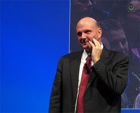 Steve Ballmer tijdens TechNet Live 2009 in Den Haag