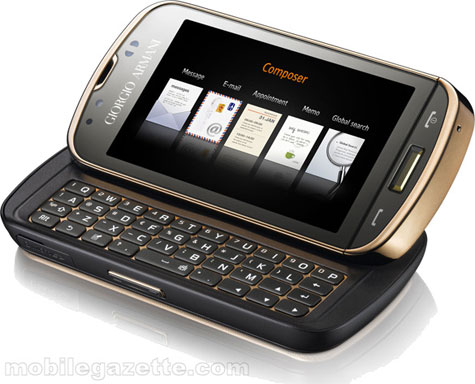 Giorgio Armani - Samsung Smartphone