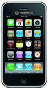 Mockup: Apple iPhone 3GS met Vodafone-logo