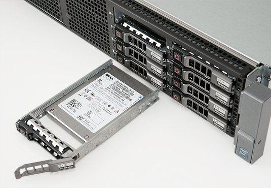 Artemis 6 Dell PowerEdge R710 drive bays