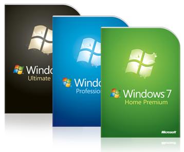 Windows 7 versies