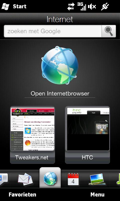 HTC Sense, The Android TouchFLO3D