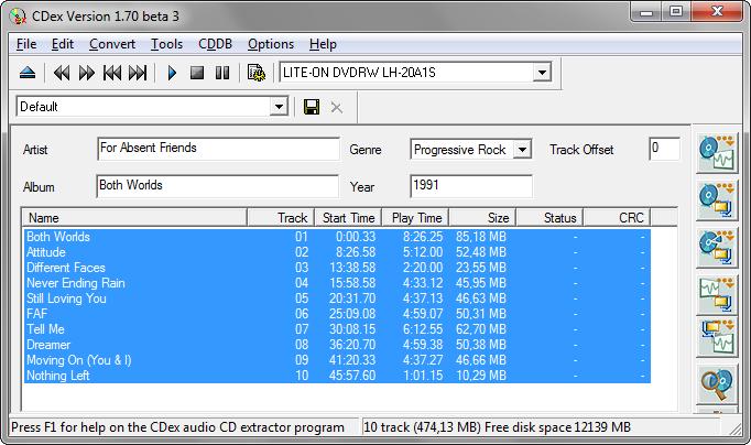 cdex 1.70 beta 4 released