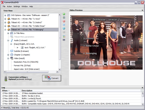 ConvertXtoDVD 4.0 screenshot