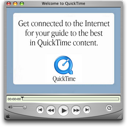 Apple QuickTime screenshot